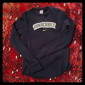 Vanderbilt Waffle Knit Long Sleeved Ladies Top